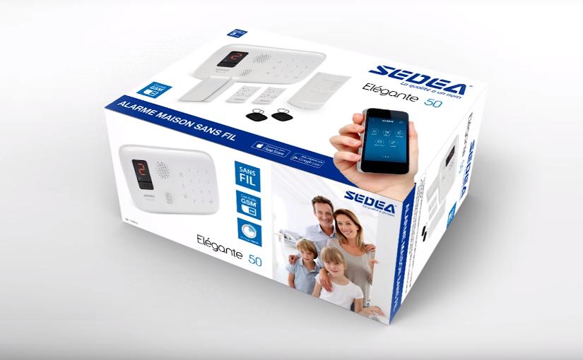 Alarme maison SEDEA avec système par GSM/SMS/RFID !