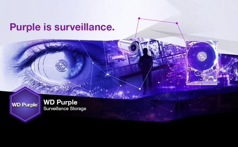 Ne jouez plus avec votre sécurité grâce au WD Purple !